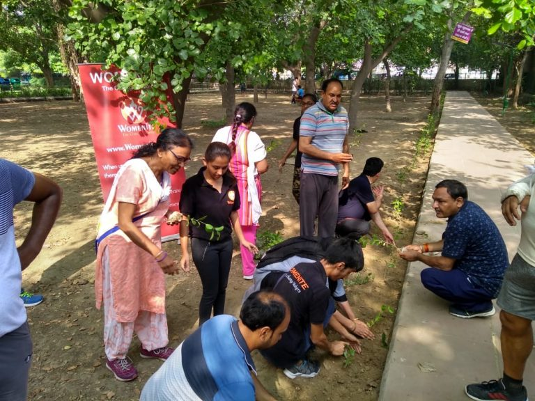 Van Mahotsav celebration by Womenite