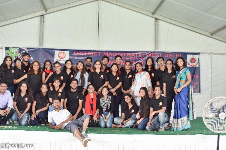 Team womenite behind Udaan beti bachao beti padhao