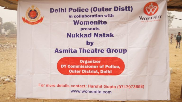 Nukkad natak_Womenite_Delhi Police_Asmita Theatre