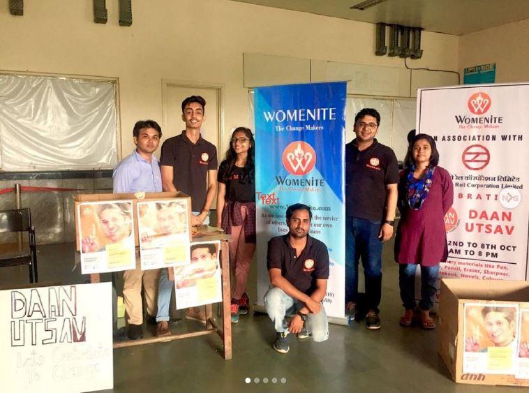 Womenite Daan Utsav campaign